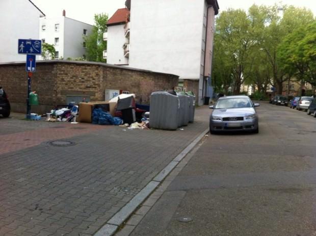 An vielen Orten in der Neckarstadt-West sieht es wochenlang so aus (Archivbild) | Foto: Maik Rügemer