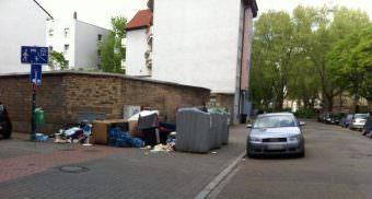 An vielen Orten in der Neckarstadt-West sieht es wochenlang so aus | Foto: Maik Rügemer