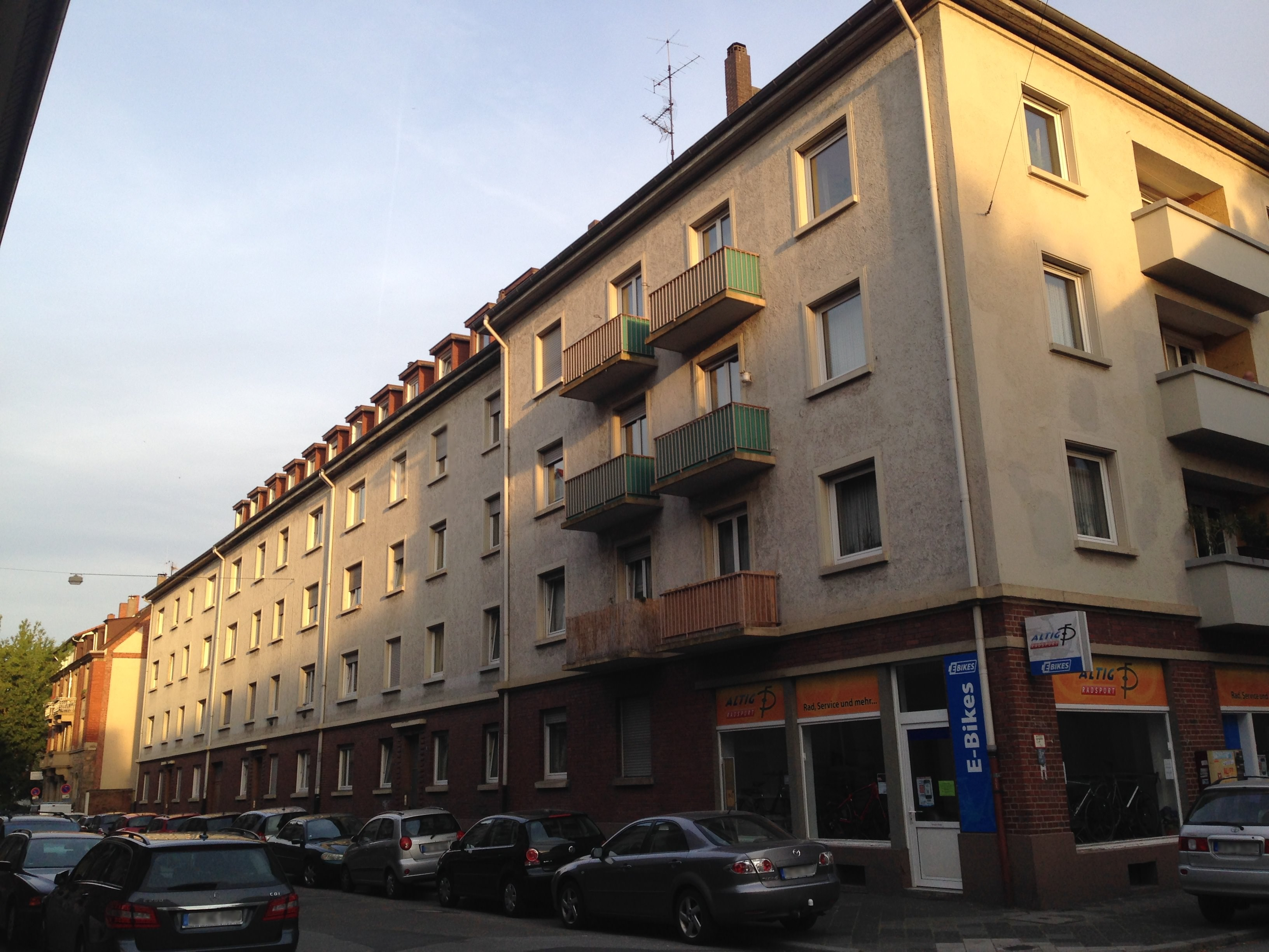 Ecke Lenaustraße/Kobellstraße | Foto: M. Schülke