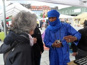Afrikanischer Markt | Foto: Eine-Welt-Forum Mannheim e.V.