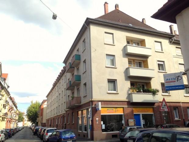 Vorerst gerettet: Die fünf Häuser der VBL | Foto: Neckarstadtblog