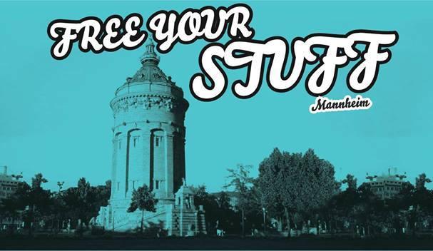 freeyourstuff logo - Free your stuff - Kostenlosflohmarkt am dem Alten Messplatz