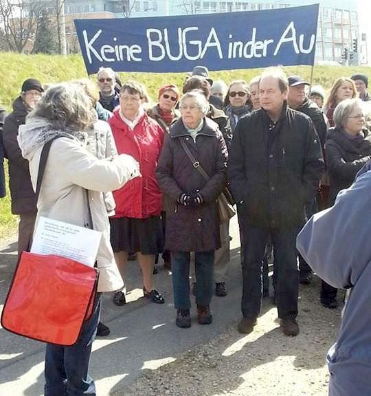 Werden die BuGa-Gegner von der Verwaltung auf die Straße und auf den Rechtsweg gezwungen? | Foto: Karlheinz Paskuda (Archivbild, Oktober 2013)
