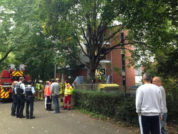 Bald war klar, dass nichts Schlimmes passiert war | Foto: Neckarstadtblog
