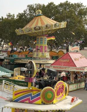 Kettenkarussell auf der Mannheimer Messe | Foto: Stadt Mannheim