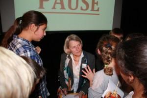 Bildungsbürgermeisterin Dr. Ulrike Freundlieb beim Kindergipfel | Foto: Stadt Mannheim