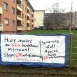 LINKE gegen Abriss von GBG-Wohnungen