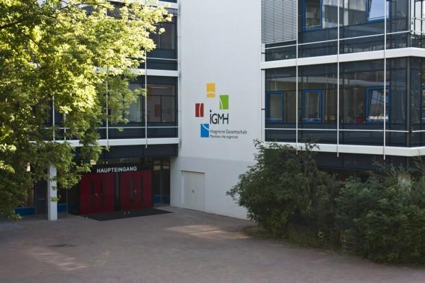Die Stadtteilbibliothek befindet sich in der Integrierten Gesamtschule Herzogenried | Foto: Sandro Althaus