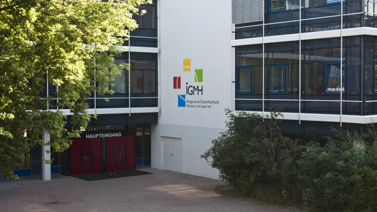 Haupteingang der IGMH | Foto: Sandro Althaus (cc-by-sa)