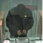 Fahndungsfoto nach Raubüberfall auf Sparkasse