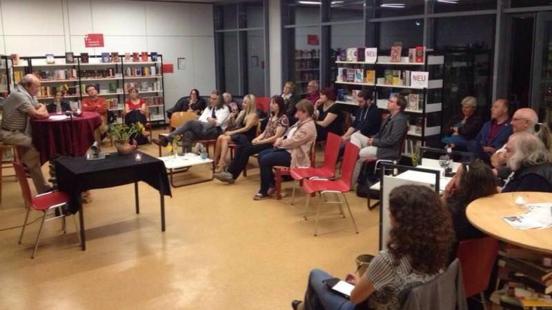 Die Spätlese zu Gast in der Stadtteilbibliothek Herzogenried | Foto: Spätlese