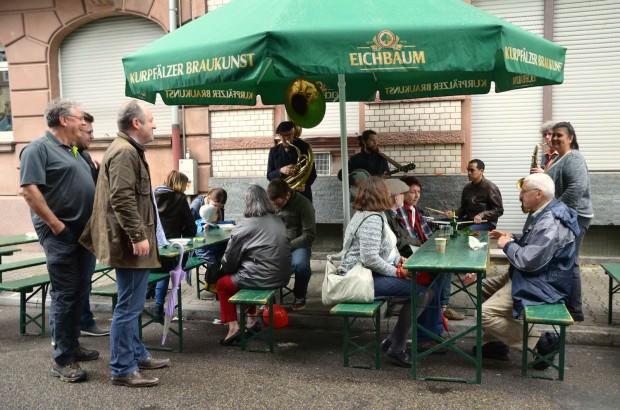 Letztes Jahr beim Stadtteilfest im Wohlgelegen| Foto: Klingler