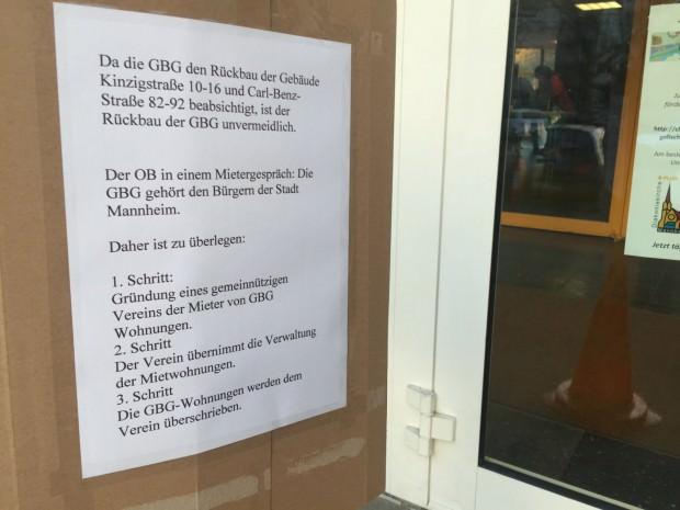 Ist eine neue Genossenschaft eine Alternative für die Häuser entlang der Carl-Benz-Straße? | Foto: Neckarstadtblog
