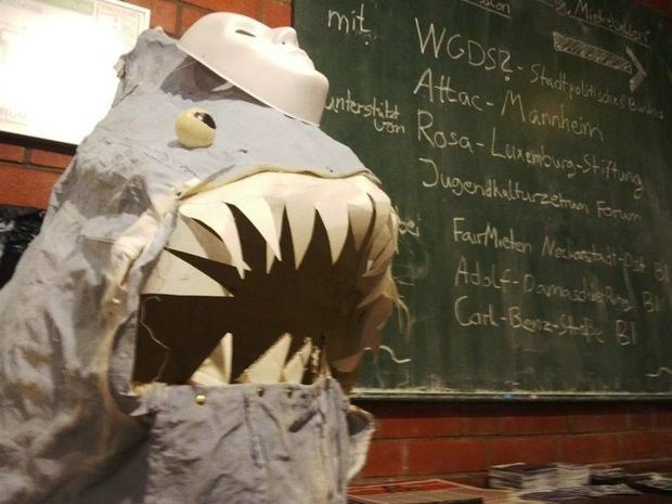 Der Miethai geht in Mannheim um | Foto: WGDS?