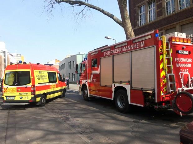 Wieder einmal musste die Feuerwehr zur Uhlandschule ausrücken (Archivbild 2015) | Foto: Neckarstadtblog
