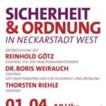 SPD-Sicherheitstour durch die Neckarstadt-West