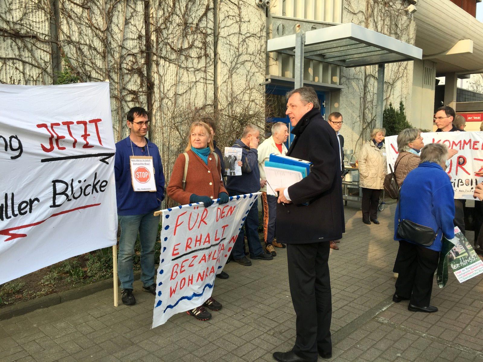 Der Oberbürgermeister versteht das Problem nicht | Foto: Neckarstadtblog