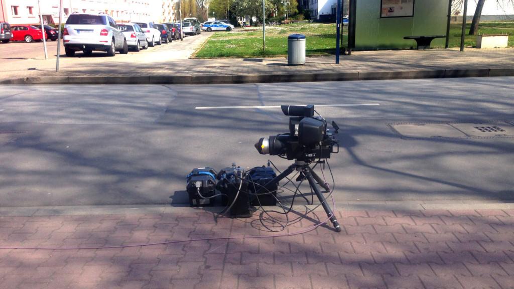 Blitzer in der Carl-Benz-Straße | Foto: Neckarstadtblog
