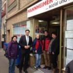 CDU Neckarstadt besucht mit OB-Kandidat Rosenberger Mannheimer Tafel