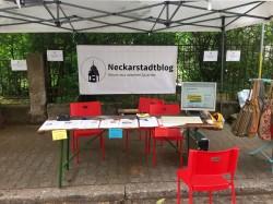 Unser Stand | Foto: Neckarstadtblog