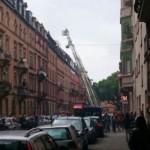 Brand in der Alphornstraße – Update: Eine Person leicht verletzt