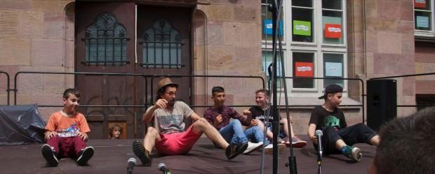 Ümit Dugan vom Erlenhof und seine Crew | Foto: Neckarstadtblog