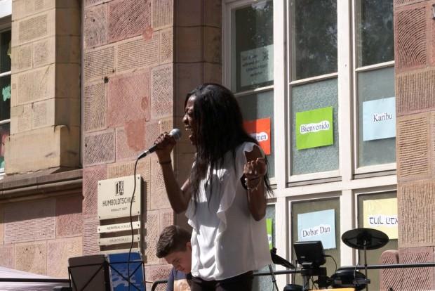 Wahres Talent und volle Hingabe zeigte die zweitplatzierte Rosianna | Foto: Neckarstadtblog