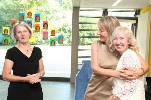 Bildungsbürgermeisterin Dr. Ulrike Freundlieb (links) bei der Verabschiedung von Rektorin Gabriele Wiegandt-Maslarinos | Foto: Stadt Mannheim