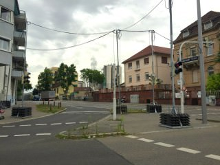 Fußgängerampel in der Käfertaler Straße| Foto: Neckarstadtblog
