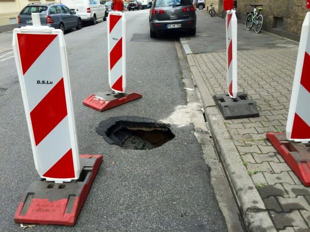 """Das Neckarstädter """"Sommerloch"""".   Foto: Neckarstadtblog"""