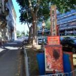 Vandalismus an Kunstwerken in der Käfertaler Straße