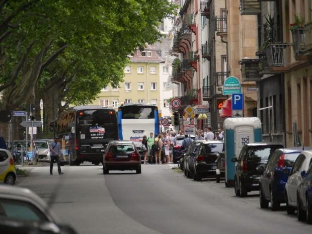 Eine eher ungewöhnliche Situation in der Langen Rötterstraße | Foto: M.W.