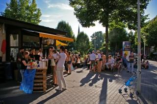 Auch mit Kind und Kegel macht die Neckarstadt Halt am Kiosk (Archivbild) | Foto: Neckarstadtblog