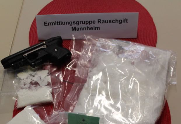 Sichergestelltes Amphetamin (Archivbild) | Foto: Polizeipräsidium Mannheim