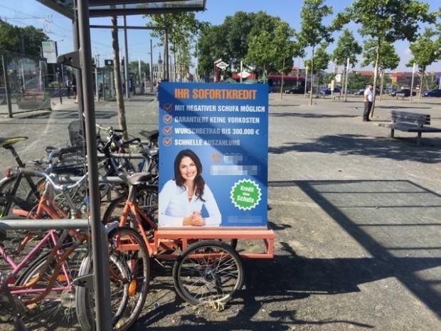Seit Mitte Mai weiß die Verwaltung von diesem Ärgernis. Was dauert da so lange? | Foto: Neckarstadtblog
