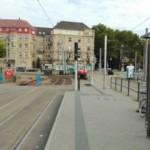 Gleisarbeiten am Alten Messplatz (Update)