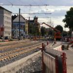 Die Bahnen in der Friedrich-Ebert-Straße fahren wieder