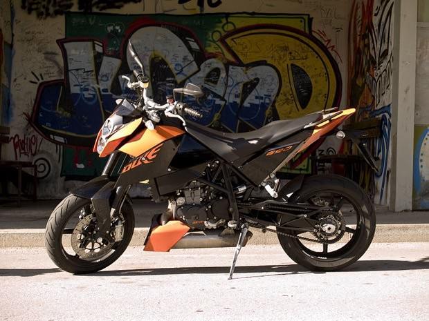 Eine solche KTM Enduro 690 wurde gestohlen | Foto: Mitah (cc by-sa 2.0, Wikimedia Commons)