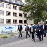 Kurz-Visite in der Neckarstadt-West