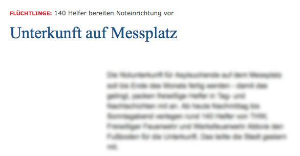 Wer diesen Artikel nur flüchtig liest, dem entgeht vielleicht, dass der Ludwigshafener Messplatz gemeint ist   Screenshot: Mannheimer Morgen
