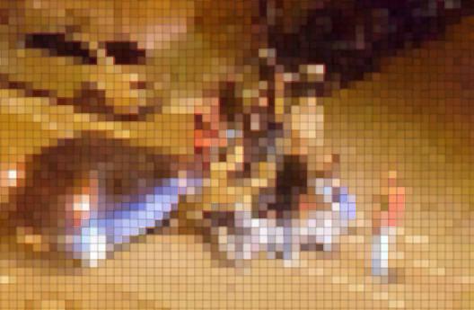 Bei Facebook wurde von einem Anwohner noch am Abend ein Foto des Unfallorts veröffentlicht. Es wurde durch die Redaktion verfremdet | Foto: privat