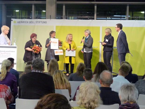 Bildungsbürgermeisterin Dr. Ulrike Freundlieb reiste eigens zur Verleihung nach Berlin   Foto: Stadt Mannheim