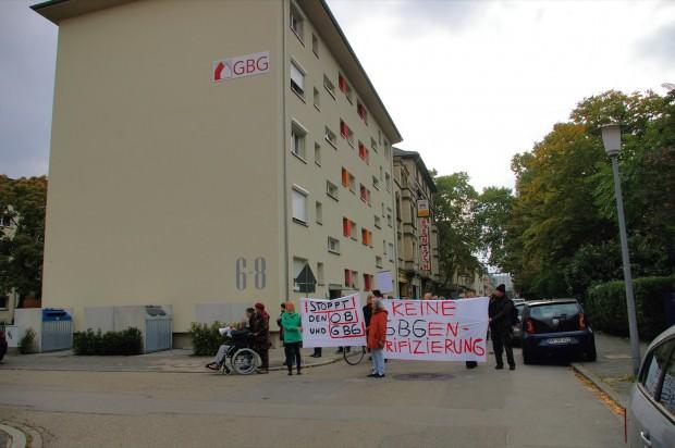 Aller bürgerlicher Protest gescheitert: Am Ende konnte die GBG genug Druck aufbauen, dass auch die letzte Mieterin ihr Zuhause für immer aufgeben musste | Archivbild: Neckarstadtblog