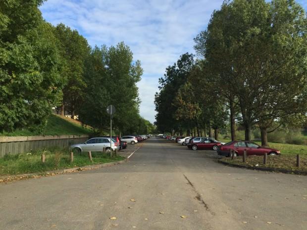Der Parkplatz des Uniklinikums | Foto: Neckarstadtblog