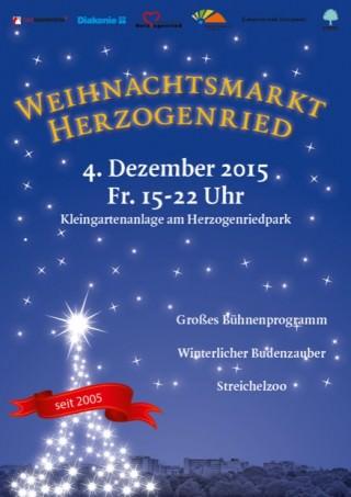 Bereits zum zehnten Mal findet der Weihnachtsmarkt Herzogenried statt | Bild: Quartiermanagement Herzogenried