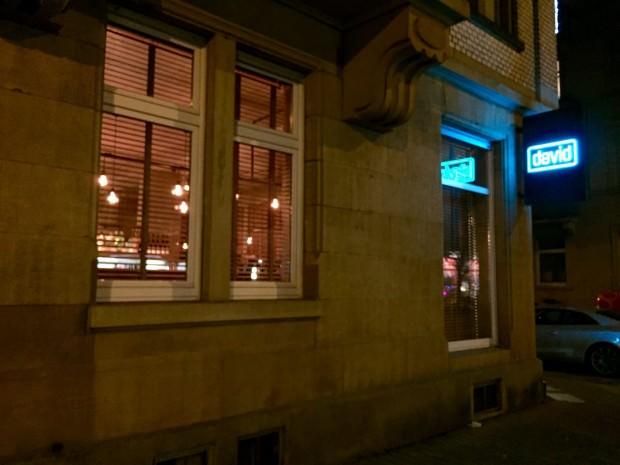 Gemütliche Abendatmosphäre bei david   Foto: Neckarstadtblog