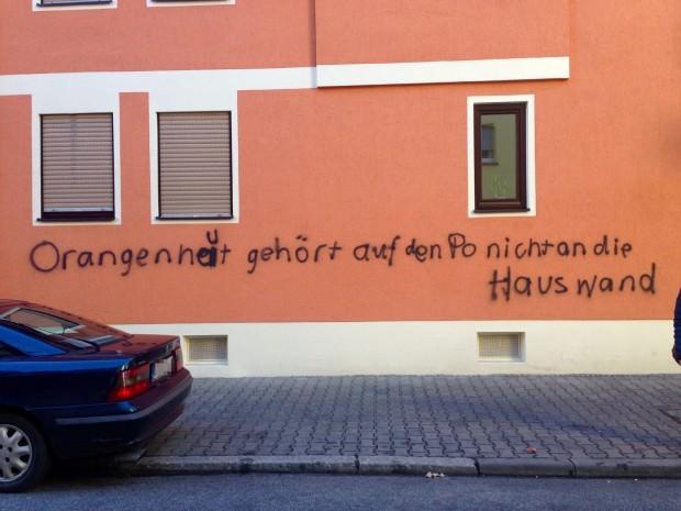 Humorige Neckarstädter Wandkunst | Foto: Neckarstadtblog