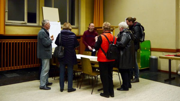 Angebote für alle Altersgruppen wünschten sich die Anwesenden vom Fachbereich Gesundheit | Foto: M. Schülke