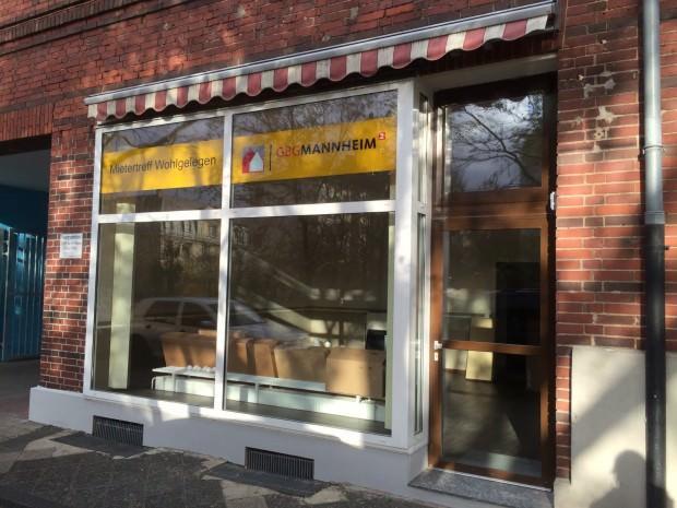 Der GBG Mietertreff (auf dem Bild noch in der Umbauphase) wird zum Bürgercafé | Foto: Quartierbüro Wohlgelegen