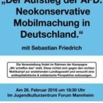 Vortrag über den Aufstieg der Rechtspopulisten